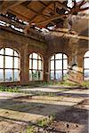 Interior of Main Office of Abandoned Colliery, Chatelet, District of Marcinelle, Charleroi, Wallonia, Belgium Stock Photo - Premium Rights-Managed, Artist: oliv, Code: 700-06452144