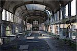 Interior of Abandoned Colliery, Chatelet, District of Marcinelle, Charleroi, Wallonia, Belgium Stock Photo - Premium Rights-Managed, Artist: oliv, Code: 700-06452145