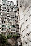 Low Angle View of Apartment Buildings, Macau, China Stock Photo - Premium Rights-Managed, Artist: Tomasz Rossa, Code: 700-06452180