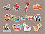 playground stickers Stock Photo - Royalty-Free, Artist: notkoo2008                    , Code: 400-06453489