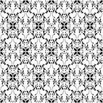 Beutiful background of seamless floral pattern Stock Photo - Royalty-Free, Artist: inbj                          , Code: 400-06455239
