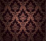 Damask seamless vector pattern.  For easy making seamless pattern just drag all group into swatches bar, and use it for filling any contours. Stock Photo - Royalty-Free, Artist: angelp                        , Code: 400-06456105