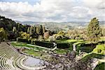 Overview of Roman Amphitheater, Fiesole, Tuscany, Italy Stock Photo - Premium Rights-Managed, Artist: Siephoto, Code: 700-06465399