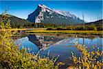 Vermilion Lakes and Mount Rundle in Autumn, near Banff, Banff National Park, Alberta, Canada Stock Photo - Premium Rights-Managed, Artist: R. Ian Lloyd, Code: 700-06465456