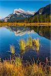 Mount Rundle and Sulphur Mountain Reflected in Vermilion Lakes, near Banff, Banff National Park, Alberta, Canada Stock Photo - Premium Rights-Managed, Artist: R. Ian Lloyd, Code: 700-06465465