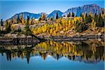 Rock Isle Lake in Autumn, Mount Assiniboine Provincial Park, British Columbia, Canada Stock Photo - Premium Rights-Managed, Artist: R. Ian Lloyd, Code: 700-06465479