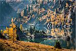 Grizzly Lake in Autumn, Sunshine Meadows, Mount Assiniboine Provincial Park, British Columbia, Canada Stock Photo - Premium Rights-Managed, Artist: R. Ian Lloyd, Code: 700-06465493