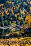 Larix Lake in Autumn, Rock Isle Trail, Sunshine Meadows, Mount Assiniboine Provincial Park, British Columbia, Canada Stock Photo - Premium Rights-Managed, Artist: R. Ian Lloyd, Code: 700-06465495