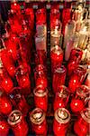 Red and White Prayer Candles in Notre-Dame Basilica, Montreal, Quebec, Canada Stock Photo - Premium Rights-Managed, Artist: R. Ian Lloyd, Code: 700-06465566