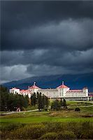 Mount Washington Hotel, Carroll, Coos County, New Hampshire, USA Stock Photo - Premium Rights-Managednull, Code: 700-06465692