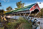 Covered Bridge, Jackson, Carroll County, New Hampshire, USA Stock Photo - Premium Rights-Managed, Artist: R. Ian Lloyd, Code: 700-06465696