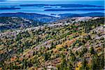 View of Acadia National Park from Cadillac Mountain, Mount Desert Island, Hancock County, Maine, USA Stock Photo - Premium Rights-Managed, Artist: R. Ian Lloyd, Code: 700-06465701