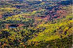 View of Valley with Fall Colours as seen from Cadillac Mountain, Acadia National Park, Mount Desert Island, Hancock County, Maine, USA Stock Photo - Premium Rights-Managed, Artist: R. Ian Lloyd, Code: 700-06465704