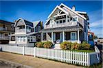 Houses with White Picket Fences, Oak Bluffs, Dukes County, Martha's Vineyard, Massachusetts, USA Stock Photo - Premium Rights-Managed, Artist: R. Ian Lloyd, Code: 700-06465772