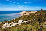 Aquinnah Lighthouse on Gay Head Cliffs, Aquinnah, Martha's Vineyard, Massachusetts, USA Stock Photo - Premium Rights-Managed, Artist: R. Ian Lloyd, Code: 700-06465793