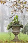 Urn in Garden, Newport, Rhode Island, USA Stock Photo - Premium Rights-Managed, Artist: R. Ian Lloyd, Code: 700-06465823