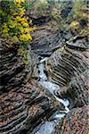 Glen Greek and Gorge in Autumn, Watkins Glen State Park, Schuyler County, New York State, USA Stock Photo - Premium Rights-Managed, Artist: R. Ian Lloyd, Code: 700-06465839