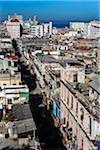 Overview of City and Ocean, Havana, Cuba Stock Photo - Premium Rights-Managed, Artist: R. Ian Lloyd, Code: 700-06465865