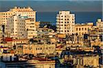 Overview of City and Ocean, Havana, Cuba Stock Photo - Premium Rights-Managed, Artist: R. Ian Lloyd, Code: 700-06465867