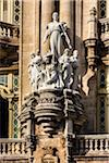 Close-Up of Statues on Gran Teatro de La Habana, Paseo del Prado, Havana, Cuba Stock Photo - Premium Rights-Managed, Artist: R. Ian Lloyd, Code: 700-06465878