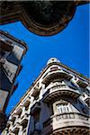 Low Angle View of Corner Architecture, Havana, Cuba Stock Photo - Premium Rights-Managed, Artist: R. Ian Lloyd, Code: 700-06465891