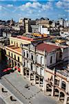 High Angle View of Buildings in Plaza Vieja with City Extending into the Distance, Havana, Cuba Stock Photo - Premium Rights-Managed, Artist: R. Ian Lloyd, Code: 700-06465909