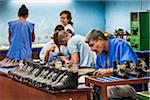 Workers Making Shoes, Havana, Cuba Stock Photo - Premium Rights-Managed, Artist: R. Ian Lloyd, Code: 700-06465938