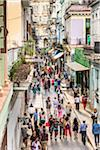 Overview of Shoppers along Obispo Street, Havana, Cuba Stock Photo - Premium Rights-Managed, Artist: R. Ian Lloyd, Code: 700-06465940
