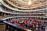 Audience in Garcia Lorca Auditorium in Gran Teatro de La Habana, Havana, Cuba Stock Photo - Premium Rights-Managed, Artist: R. Ian Lloyd, Code: 700-06465943