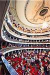 Audience in Garcia Lorca Auditorium in Gran Teatro de La Habana, Havana, Cuba Stock Photo - Premium Rights-Managed, Artist: R. Ian Lloyd, Code: 700-06465944