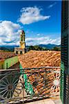 Looking Towards the Museo de la Lucha Contra Bandidos from Balcony, Trinidad, Cuba Stock Photo - Premium Rights-Managed, Artist: R. Ian Lloyd, Code: 700-06465953