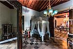 Bedroom with Canopy Bed in Museo Romantico, Trinidad, Cuba