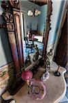 Dressing Table and Mirror in Bedroom, Museo Romantico, Trinidad, Cuba Stock Photo - Premium Rights-Managed, Artist: R. Ian Lloyd, Code: 700-06465961