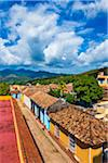 Overview of Houses and Street, Trinidad, Cuba Stock Photo - Premium Rights-Managed, Artist: R. Ian Lloyd, Code: 700-06465971