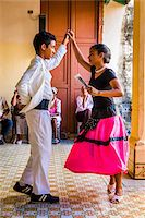 Young Dancers Performing at Club Amigos Social Dancing Event, Trinidad, Cuba Stock Photo - Premium Rights-Managednull, Code: 700-06465986