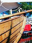 The stem of a boat, Sweden. Stock Photo - Premium Royalty-Free, Artist: Robert Harding Images, Code: 6102-06470486