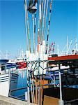 Fishing-boats in a fishing harbor, Sweden. Stock Photo - Premium Royalty-Free, Artist: F. Lukasseck, Code: 6102-06470489