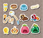 pet tool stickers  Stock Photo - Royalty-Free, Artist: notkoo2008                    , Code: 400-06472313