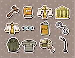 law stickers Stock Photo - Royalty-Free, Artist: notkoo2008                    , Code: 400-06472579