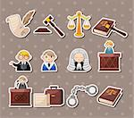 law stickers  Stock Photo - Royalty-Free, Artist: notkoo2008                    , Code: 400-06472976