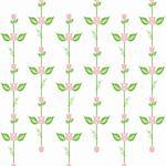 Beautiful background of seamless floral pattern Stock Photo - Royalty-Free, Artist: inbj                          , Code: 400-06473740
