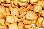closeup of a pile of rectangular mini toasts Stock Photo - Royalty-Free, Artist: nito                          , Code: 400-06484653