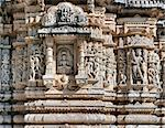 Ancient Sun Temple in Ranakpur. Jain Temple Carving.  Ranakpur, Rajasthan, Pali District, Udaipur, India. Asia. Stock Photo - Royalty-Free, Artist: photoff                       , Code: 400-06485737