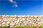 Stone Wall and Blue Sky, Lecce, Province of Lecce, Salento, Apulia, Italy Stock Photo - Premium Royalty-Free, Artist: F. Lukasseck, Code: 600-06486100