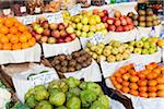 Huge Displays at the Farmer's Market (Mercado dos Lavradores), a Vegetable and Fruit Market, Elevated View, Funchal, Madeira, Portugal Stock Photo - Premium Royalty-Free, Artist: F. Lukasseck, Code: 600-06486141