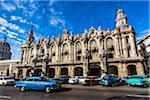 Classic Cars Outside Great Theatre of Havana (Gran Teatro de La Habana), Havana, Cuba Stock Photo - Premium Rights-Managed, Artist: R. Ian Lloyd, Code: 700-06486567
