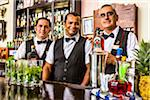 Bartenders in the Bistro a Golfo of the Hotel Nacional, Havana, Cuba Stock Photo - Premium Rights-Managed, Artist: R. Ian Lloyd, Code: 700-06486578