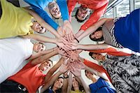 piles of work - Business people cheering in office Stock Photo - Premium Royalty-Freenull, Code: 649-06488785