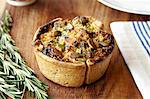 Close up of baked vegetable tart Stock Photo - Premium Royalty-Free, Artist: Jodi Pudge, Code: 649-06488980