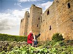 Older couple admiring castle Stock Photo - Premium Royalty-Freenull, Code: 649-06489544